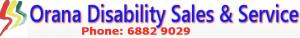 orana disability sales & service logo