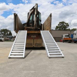 Heeve 5-Tonne 3.5m x 560mm Aluminium Loading Ramps 10 grande