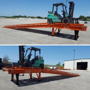Heeve Split-Series Forklift Dock Ramp / Yard Ramp
